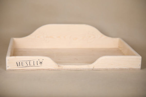 Dřevěný pelíšek Musetto
